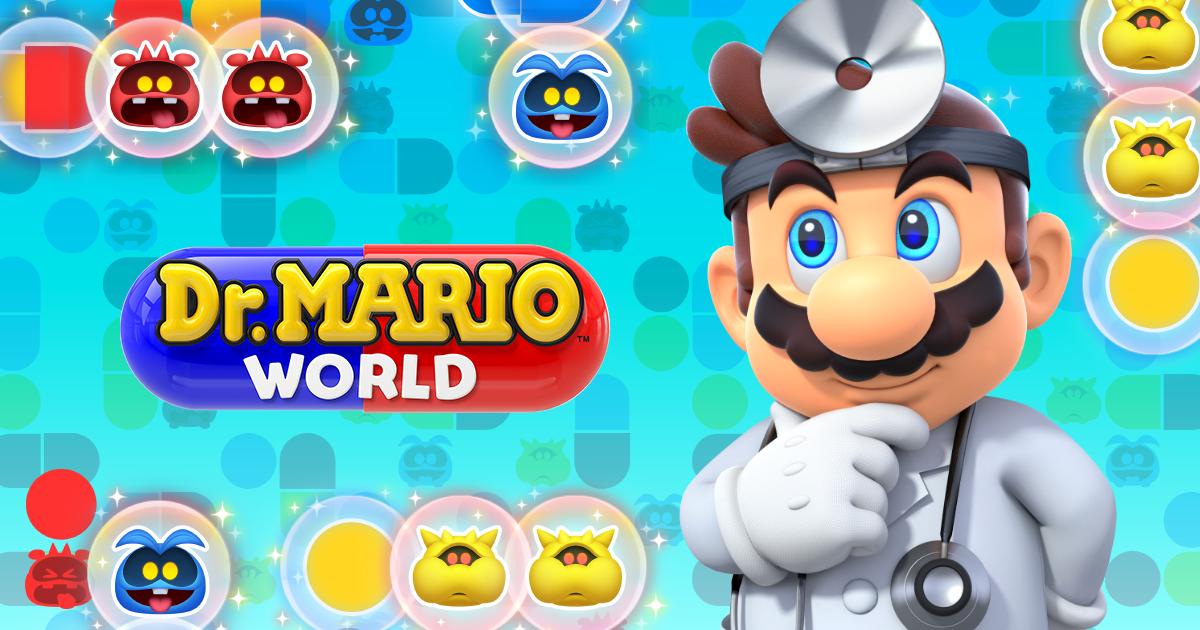 Dr  Mario World | Nintendo